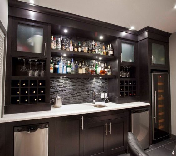 How Your Basement Can Be Your Mini Bar