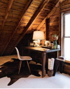 Tips on How To Make Your Own Work Office From Old Attic